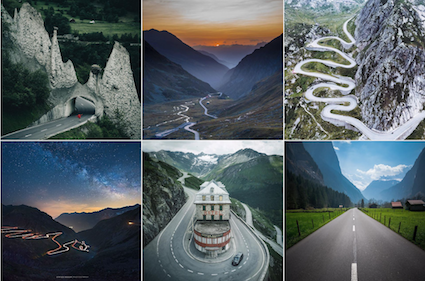 The best roads in Switzerland